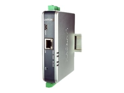 Lantronix XSENSO21R2 Analog Device Server Two Mechanical Relay Outputs, XSO21R200-01-S, 15473353, Remote Access Servers