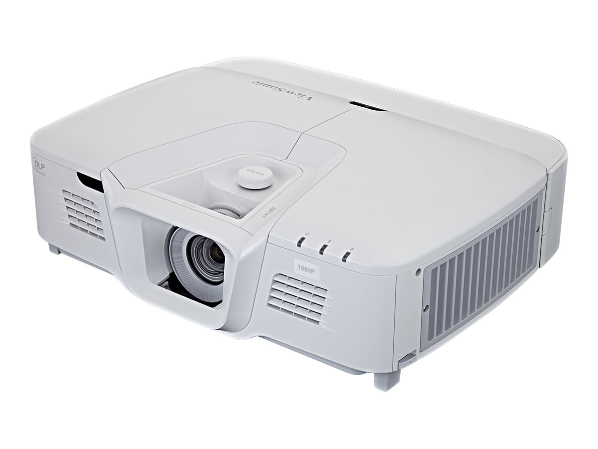 ViewSonic PRO8530HDL 1080p DLP Projector with Dual Speakers, 5200 Lumens, White