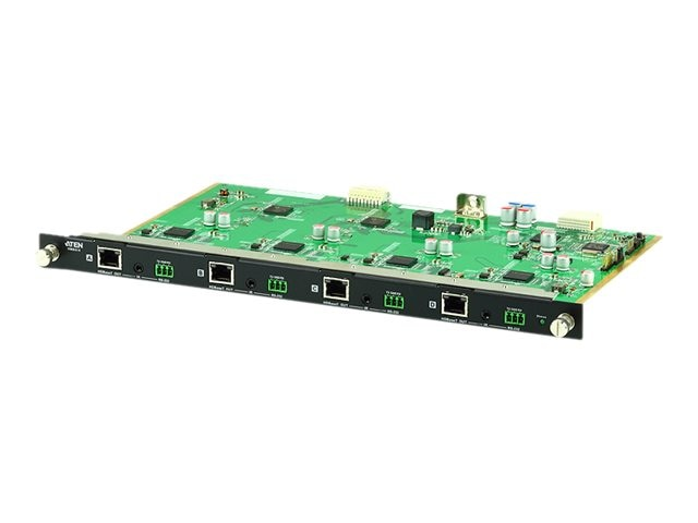 Aten 4-Port HDBaseT Output Board, VM8514, 25876965, Switch Boxes - AV