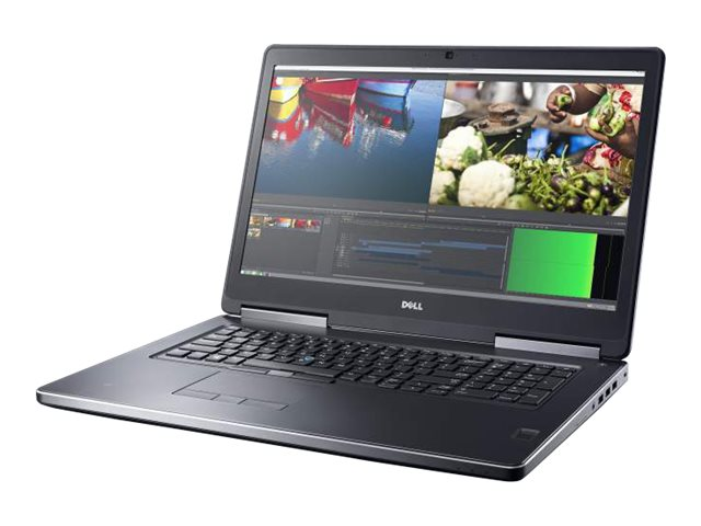 Dell Precision 7710 Core i7-6820HQ 2.7GHz 8GB 500GB W5170M ac BT WC 6C 17.3 FHD W7P64-W10P, CXJV3