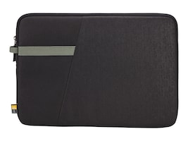 Case Logic Ibira 13.3 Laptop Sleeve, Black, IBRS113BLACK, 32073036, Carrying Cases - Notebook