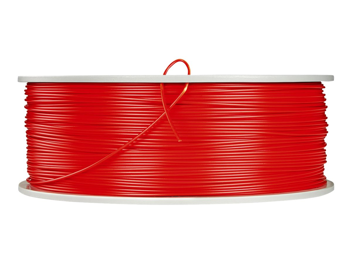 Verbatim Red 1.75mm 1kg ABS 3D Filament, 55003