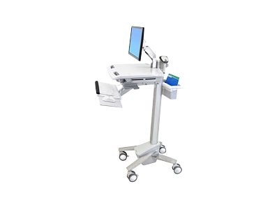 Ergotron SV41 LCD Arm Cart, Non-Powered, SV41-6200-0, 13778807, Computer Carts - Medical