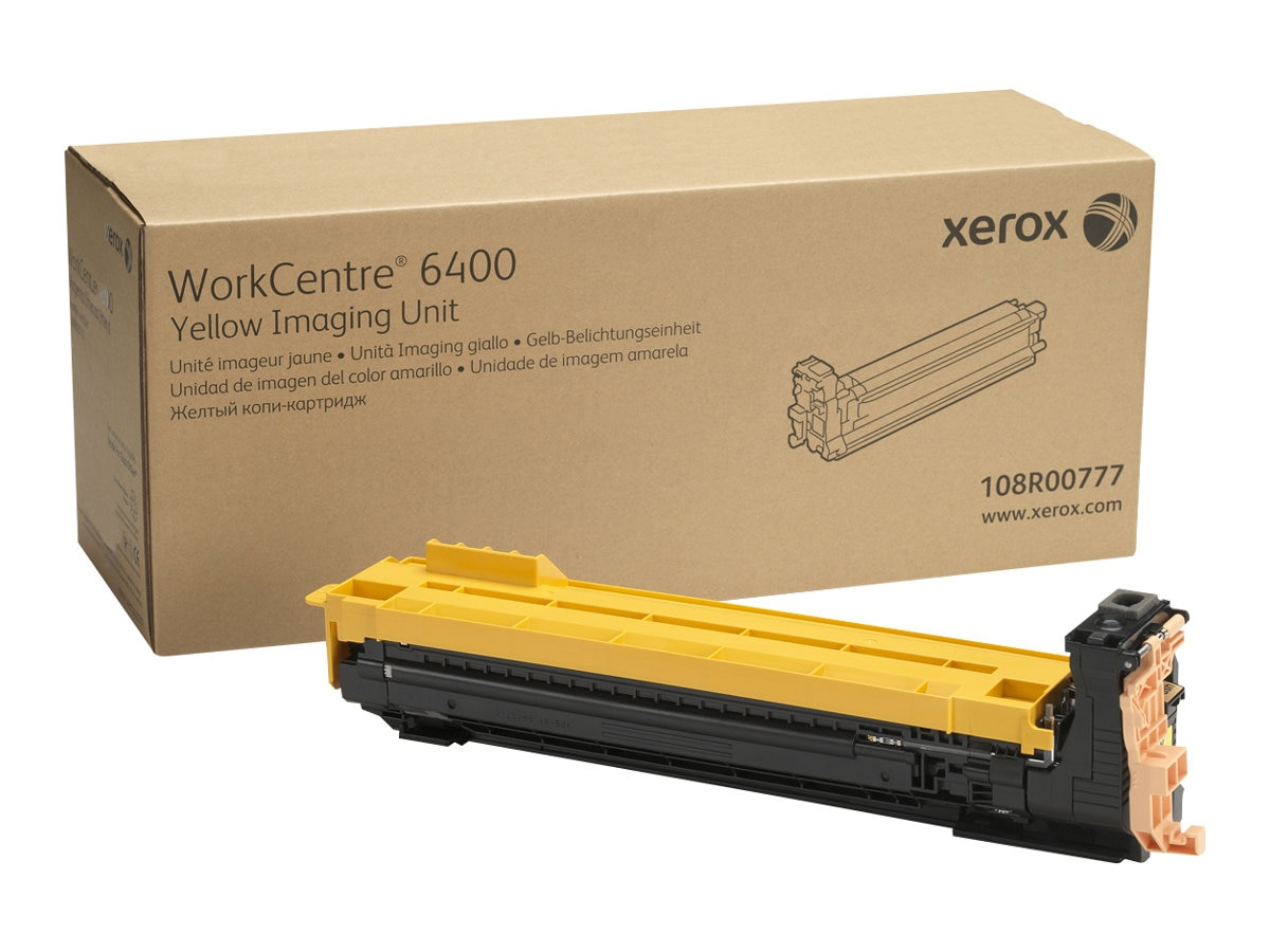 Xerox Yellow Drum Cartridge for WorkCentre 6400, 108R00777