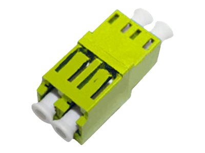 ACP-EP Female LC to Female LC SMF Duplex Fiber Optic Adapter, ADD-ADPT-LCFLCF-SD, 17487329, Adapters & Port Converters