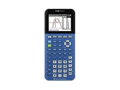 TI TI84 Plus CE Calculator - Blueberry, 84PLCE/TBL/1L1/K, 18461788, Calculators