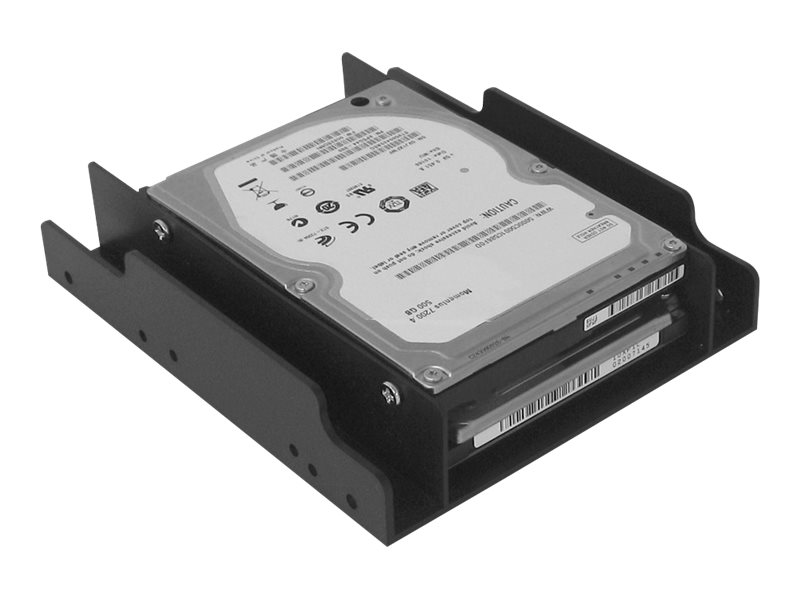 Siig Drive Bay Adapater 3.5 to Dual 2.5 Bays Enclosure, SC-SA0H12-S1
