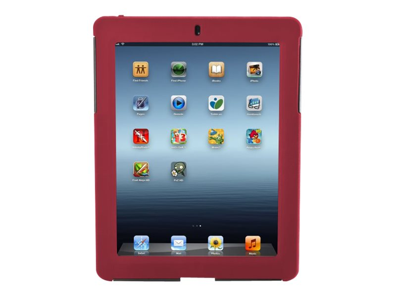 Targus Rugged Safeport Case for iPad 3 4, Red, THD04503US, 15397291, Carrying Cases - Tablets & eReaders