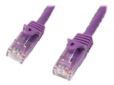 StarTech.com CAT6 UTP Snagless Patch Cable, Purple, 125ft
