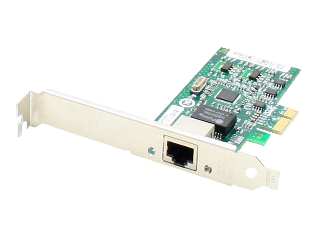 ACP-EP 10 100 1000Mbs Single Open RJ-45 Port 100m PCIe x4 NIC Dell 430-1792, 430-1792-AO