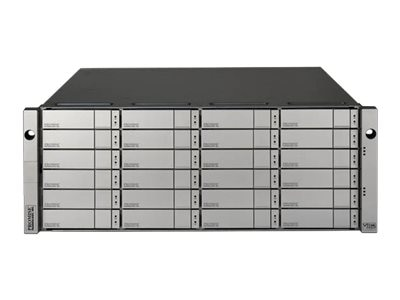 Promise 4U 24-Bay SAS 12Gb s Dual Controller Expansion Chassis, J5800SDNX, 22252321, Hard Drive Enclosures - Multiple