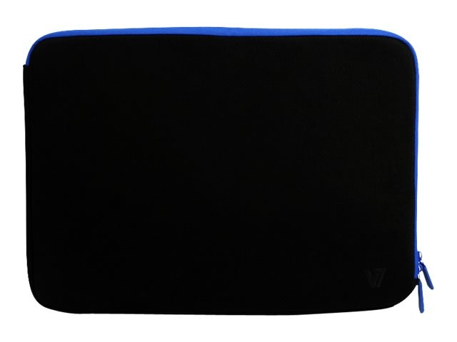 V7 Sleeve for Elite 12 Chromebook, Black Blue, CSE5-BLU-9N