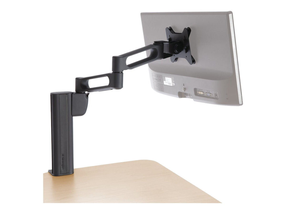 Kensington Column Mount Extended Monitor Arm with SmartFit System, Black, K60904US