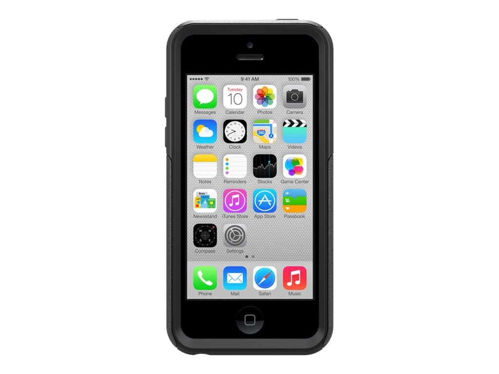 OtterBox Commuter for iPhone 5C, Black, 77-32653, 16250531, Carrying Cases - Phones/PDAs