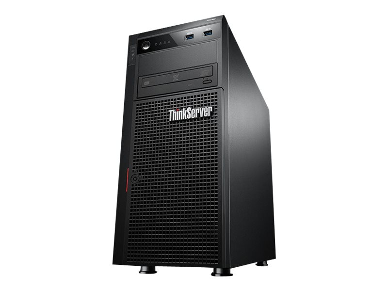 Open Box Lenovo ThinkServer TS440 Xeon QC E3-1225 v3 3.2GHz 4GB 2x500GB 4x3.5 HS Bays DVD+RW 450W WS12S, 70AQ0007US, 31388837, Servers