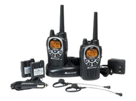 Midland Radio GMRS 50-Channel SOS Siren 2-Way Radio, GXT1000VP4, 15559464, Two-Way Radios