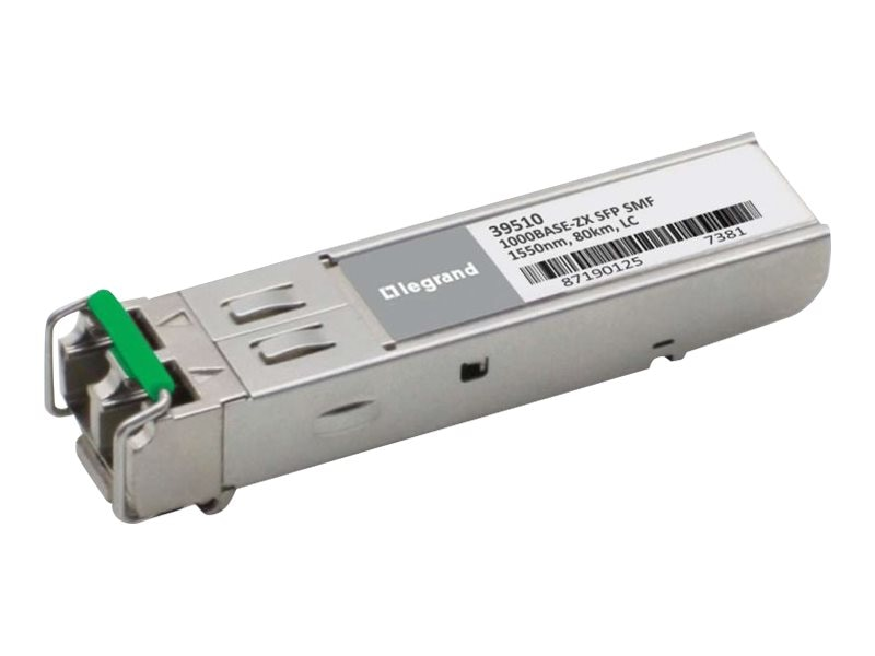 C2G Cisco GLC-ZX-SM Compatible 1000Base-ZX SMF SFP (mini-GBIC) Transceiver Module, 39510, 17239253, Network Transceivers