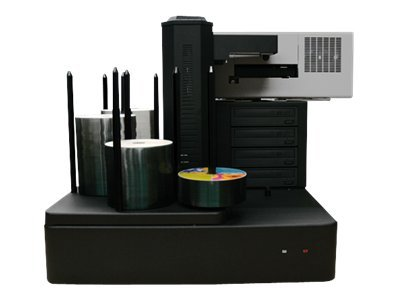 Vinpower Cronus 4-Blu-ray 12x 500-Disc Publisher w  Printer, CRONUS500-BD-S4T-BK, 15126431, Printers - Specialty Printers
