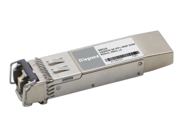 C2G Finisar FTLX8571D3BCL Compatible 10GBase-SR MMF SFP+ Transceiver, 39454, 30650506, Network Transceivers