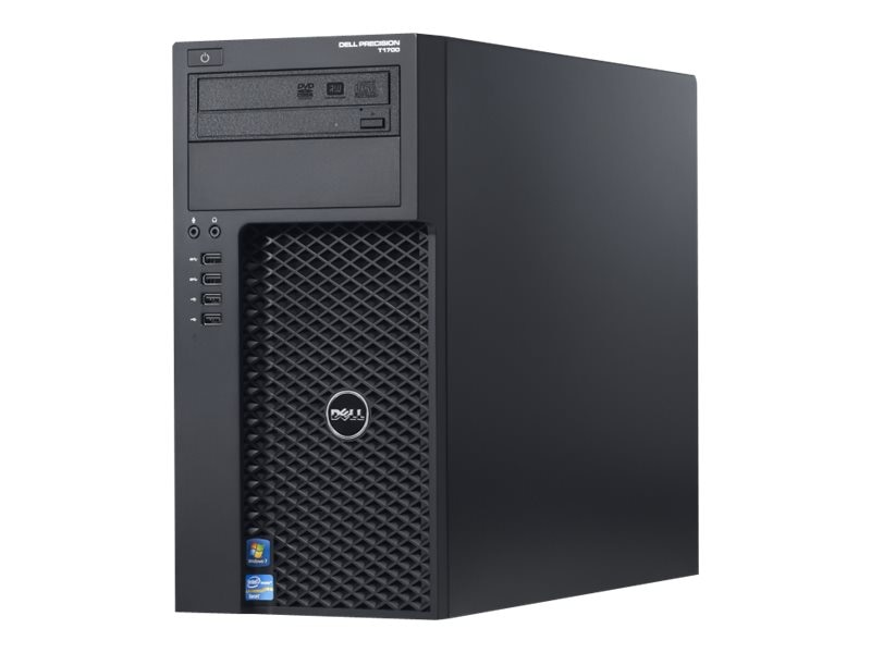 Dell Precision T1700 3.6GHz Core i7 Microsoft Windows 7 Professional 64-bit Edition   Windows 8.1 Pro, 463-5451, 19801465, Workstations