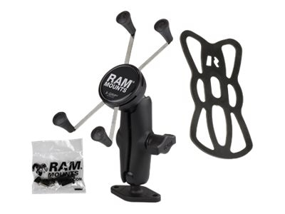 Ram Mounts 1 Ball Mount with Diamond Base and Universal X-Grip Large Phone Phablet Cradle