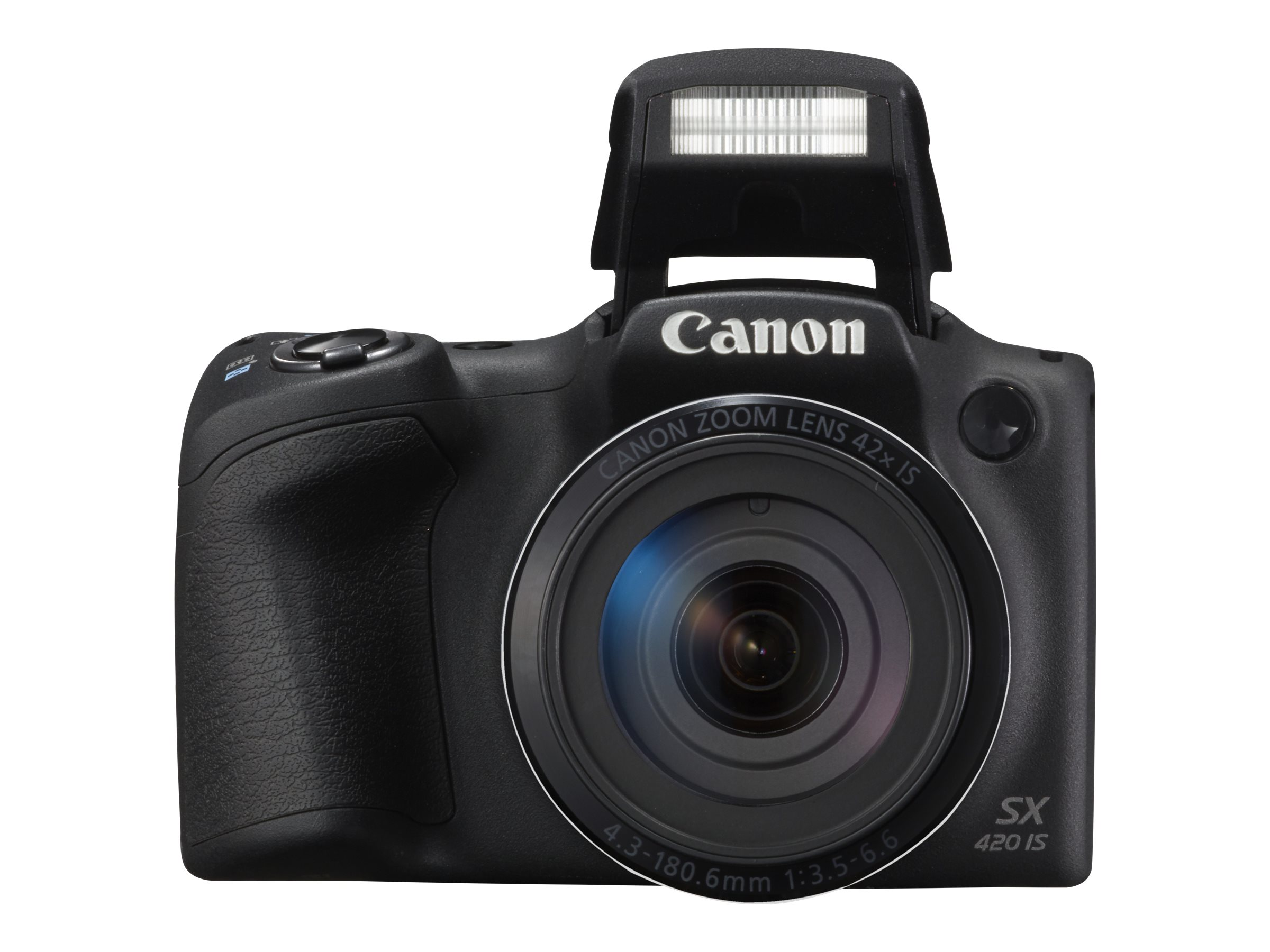 Canon PowerShot SX420 IS Digital Camera, Black, 1068C001