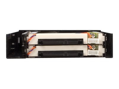 StarTech.com 2 Drive 2.5 Trayless Hot Swap SATA Mobile Rack Backplane, HSB220SAT25B
