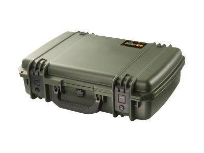 Pelican IM2370 Storm Laptop Hard Case w  Foam & Lid Organizer, Black, IM2370-X0003, 31955758, Carrying Cases - Notebook