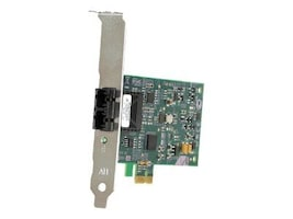 Allied Telesis 100BaseFX SC Fiber PCI-Express Adapter Card TAC, AT-2711FX/SC-901, 7307591, Network Adapters & NICs