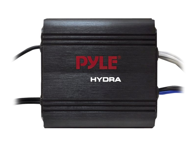 Pyle 400W 2-Channel Waterproof Micro Marine Amplifier, PLMRMP1B, 17436265, Stereo Components