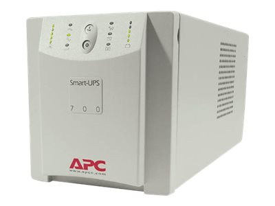 APC Smart-UPS 700VA 450W, Auto Select Input Voltage 120V 230V Input 120V Output, (6) 5-15R Outlets, SU700X167, 195393, Battery Backup/UPS