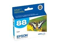Epson Cyan DURABrite Ultra Ink Cartridge for the Epson Stylus CX4400 & CX7400, T088220, 7989034, Ink Cartridges & Ink Refill Kits