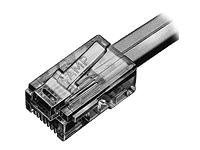AMP RJ45 Plug, 100 Pack, 5-554720-3, 458362, Premise Wiring Equipment