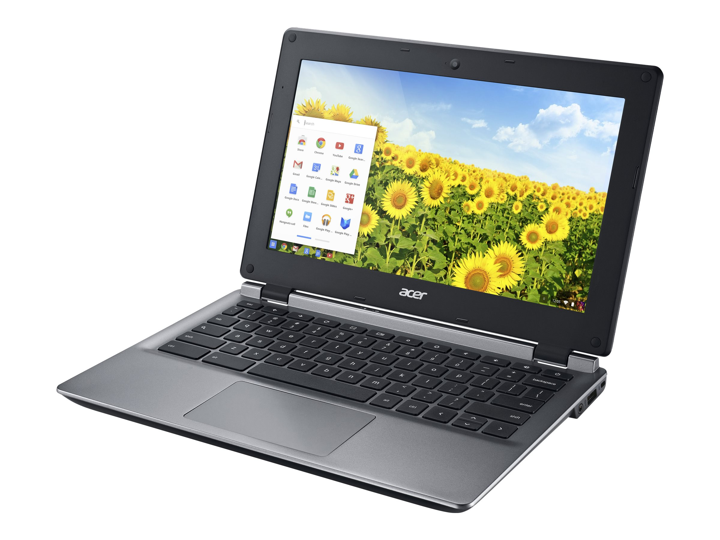 Acer Chromebook 11 C730E-C4BA 2.16GHz Celeron 11.6in display, NX.GC1AA.001, 30877621, Notebooks