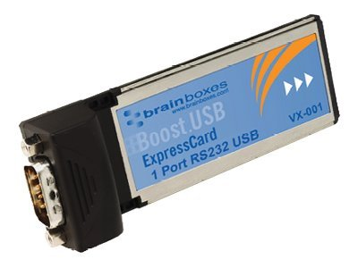 Brainboxes 1-Port RS-232 Serial Express Card, VX-001-001, 15279690, Controller Cards & I/O Boards
