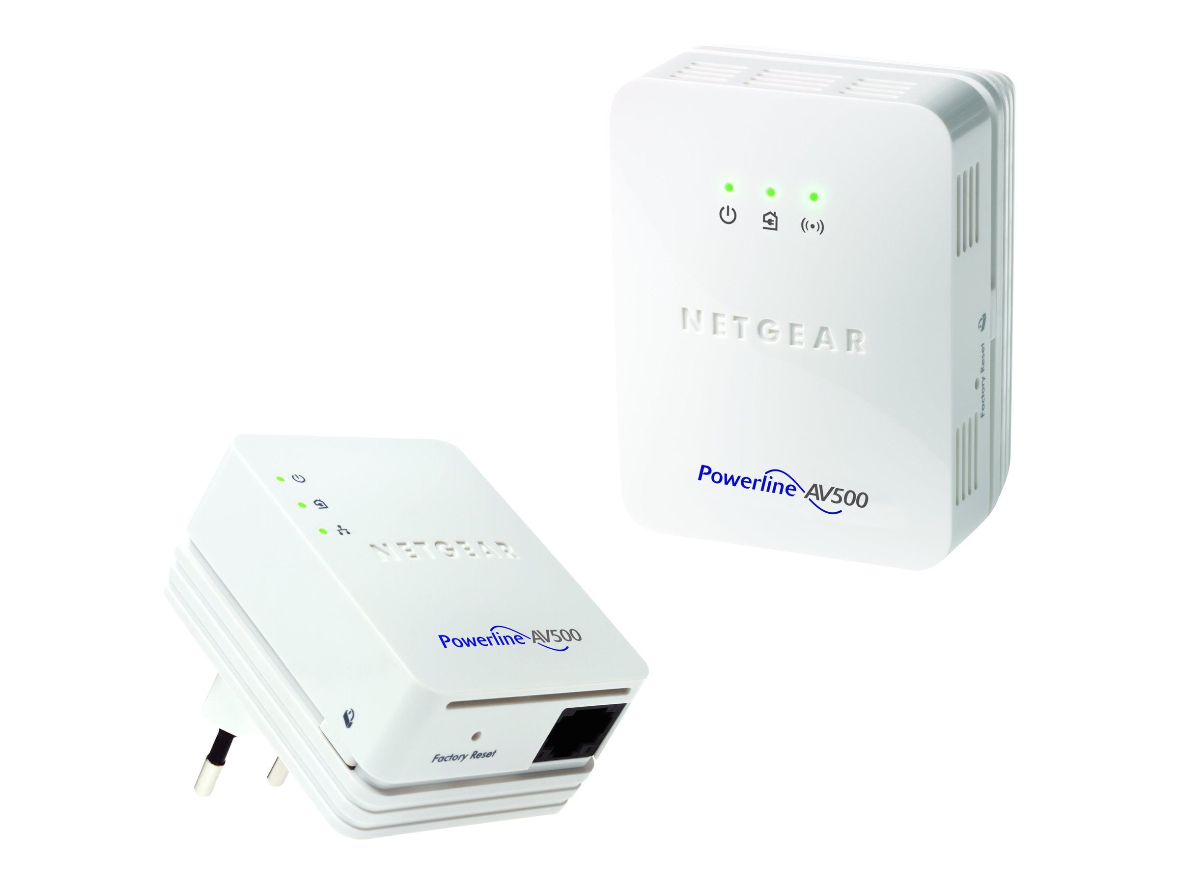 Netgear Powerline 500 WiFi AP Kit, XWNB5201-100PAS, 14968936, Network Starter Kits