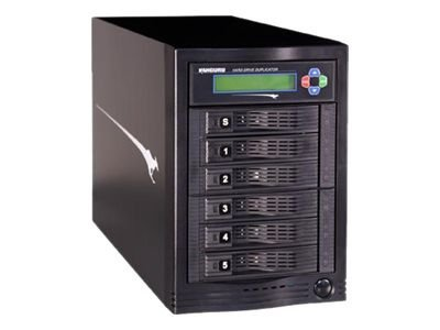 Kanguru™ KanguruClone 5HD Tower Hard Drive Duplicator, KCLONE-5HD-TWR