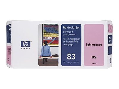 HP 83 Light Magenta UV printhead for the DesignJet 5000 Series, C4965A, 328180, Ink Cartridges & Ink Refill Kits