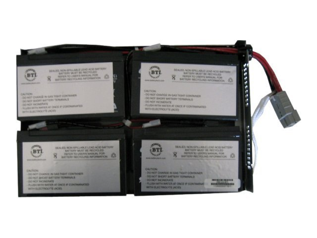 BTI Replacement Battery, RBC23 for APC SU1000RM23U and SUA1000RM2U Models, RBC23-SLA23-BTI, 7149123, Batteries - Other