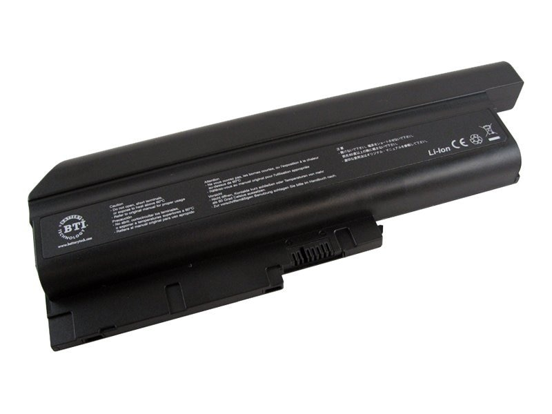 BTI Battery, Lithium-Ion 11.1V 7600mAh for Lenovo, IB-R60H, 8443244, Batteries - Notebook