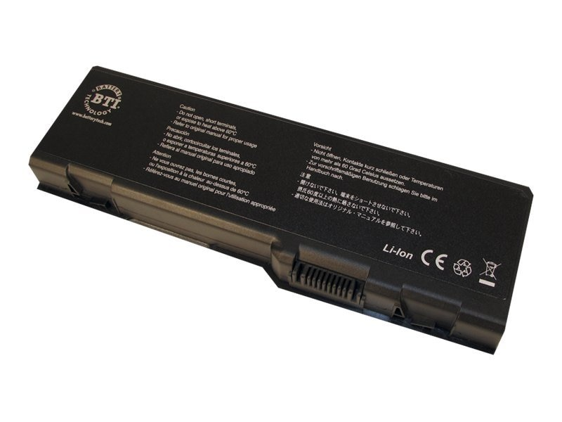 BTI Battery, for Select Dell Inspiron, Precision, XPS Notebooks, DL-6000H, 7475199, Batteries - Notebook