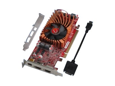 VisionTek Radeon HD 7750 PCIe Graphics Card, 1GB DDR5