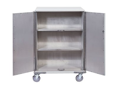 Rubbermaid Empty Exchange Cart with Electronic Lock, 1882669, 17606551, Computer Carts - Medical