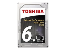Toshiba 6TB X300 3.5 Internal Hard Drive, HDWE160XZSTA, 29491270, Hard Drives - Internal