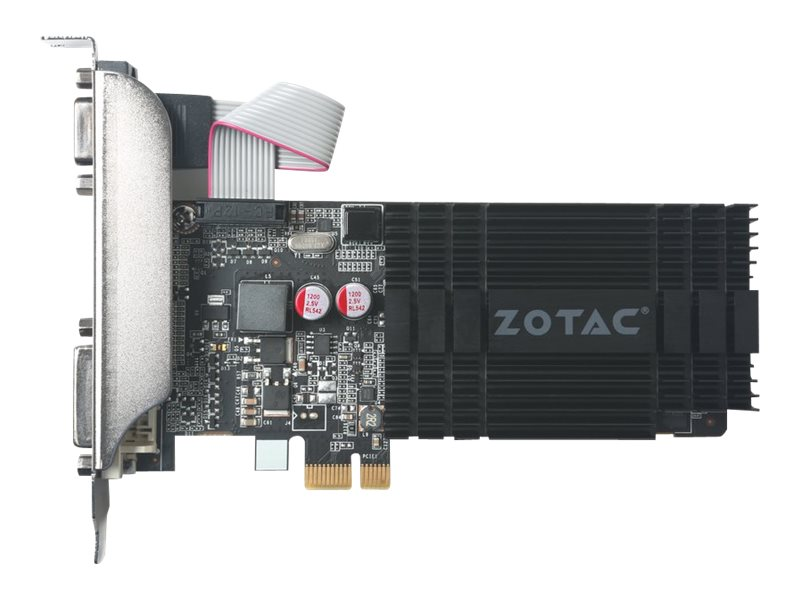 Zotac GeForce GT 710 PCIe Graphics Card, 1GB DDR3, ZT-71304-20L