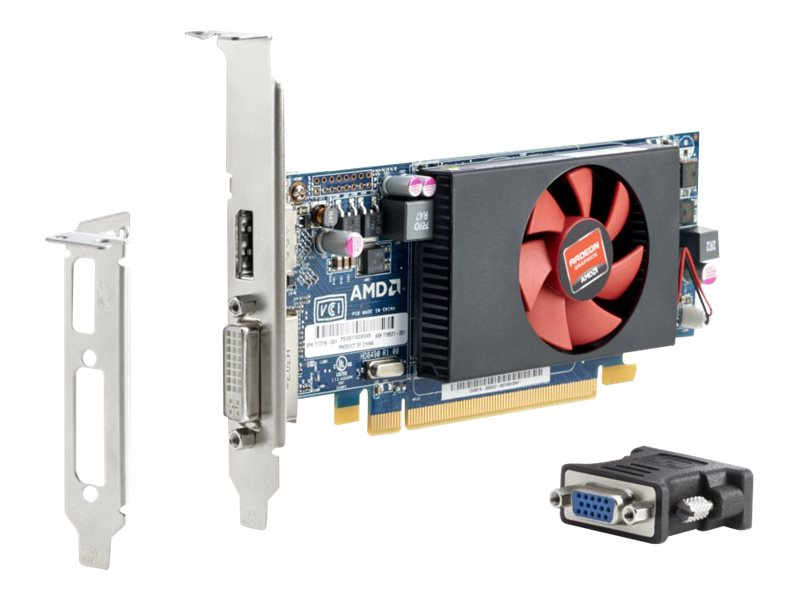 HP Promo AMD Radeon HD 8490 PCIe 3.0 x16 Graphics Card, 1GB DDR3