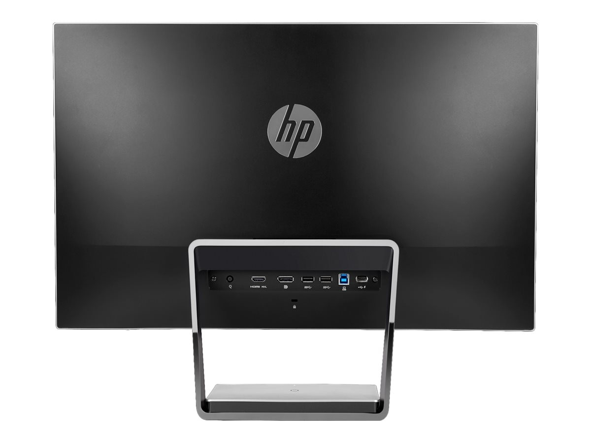HP 23.8 S240uj QHD LED-LCD Wireless Charging Monitor, Black Silver, T7B66A8#ABA