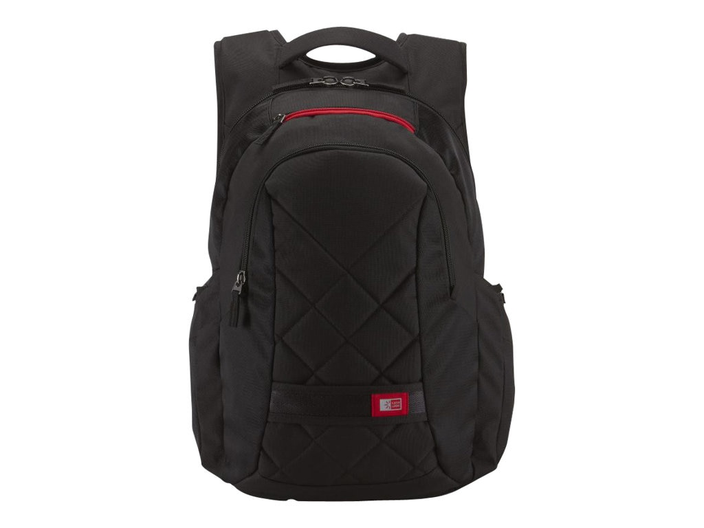 Case Logic 16 Laptop Backpack, Black, DLBP-116BLACK, 11819855, Carrying Cases - Notebook