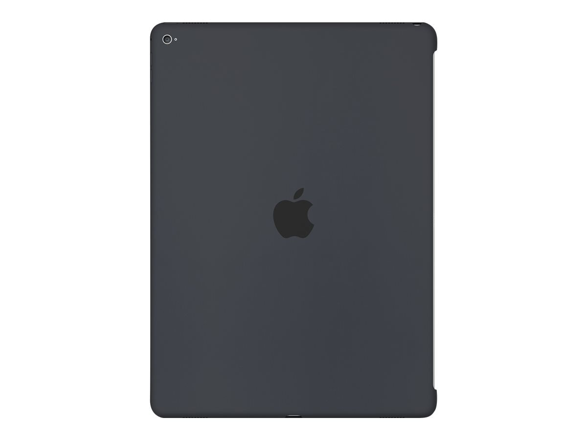 Apple Silicone Case for 12.9 iPad Pro, Charcoal Gray, MK0D2ZM/A