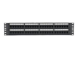 Panduit 48-Port Cat6 Molded Punchdown Patch Panel, NK6PP48P, 30687747, Patch Panels